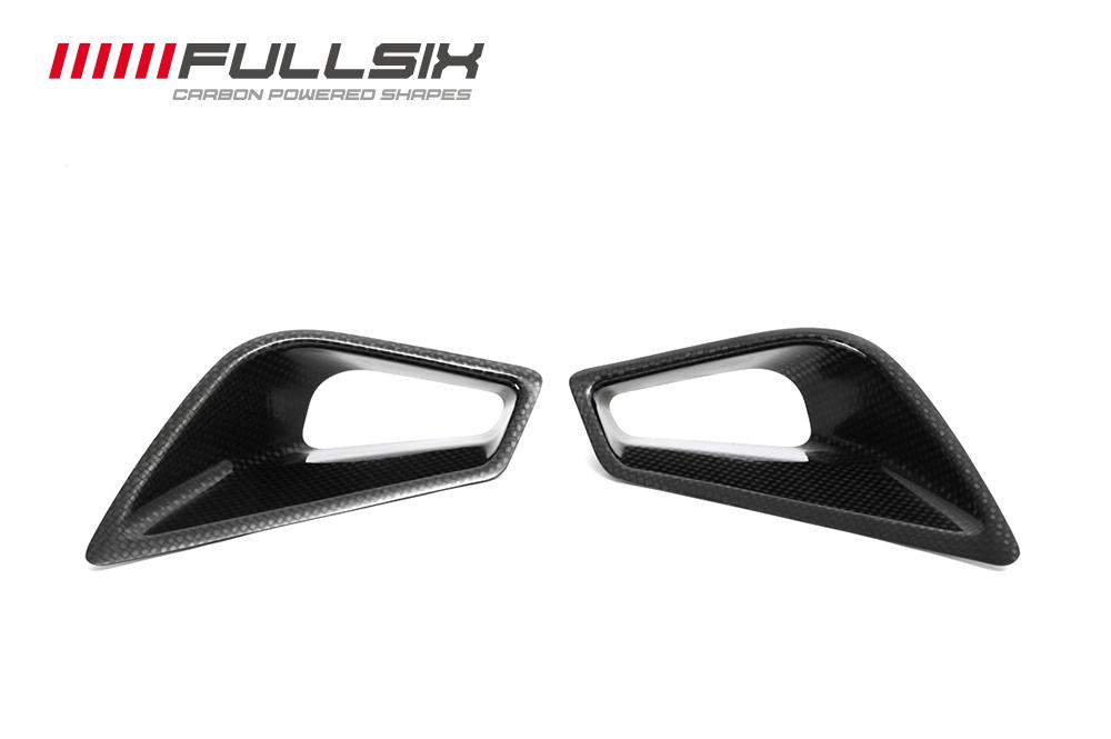 FullSix フルシックス シートカウルエアインテイク マットコート(艶なし) 平織り 1098 1198 848