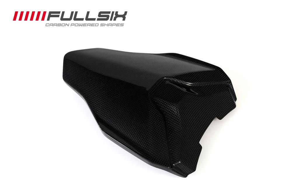 FullSix フルシックス シートカウル シングルシート(純正パッド装着可タイプ) マットコート(艶なし) 平織り 1098 1198 848