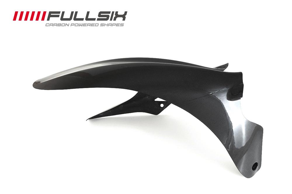 FullSix フルシックス リアフェンダー(ショート) クリアコート(艶あり) 平織り DIAVEL [ディアベル]