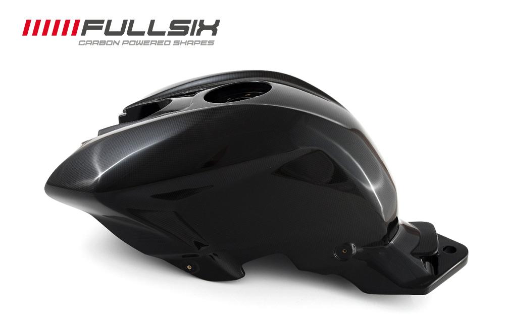 FullSix フルシックス カーボンモノコックフューエルタンク(モノコック構造) マットコート(艶なし) 平織り STREETFIGHTER [ストリートファイター]