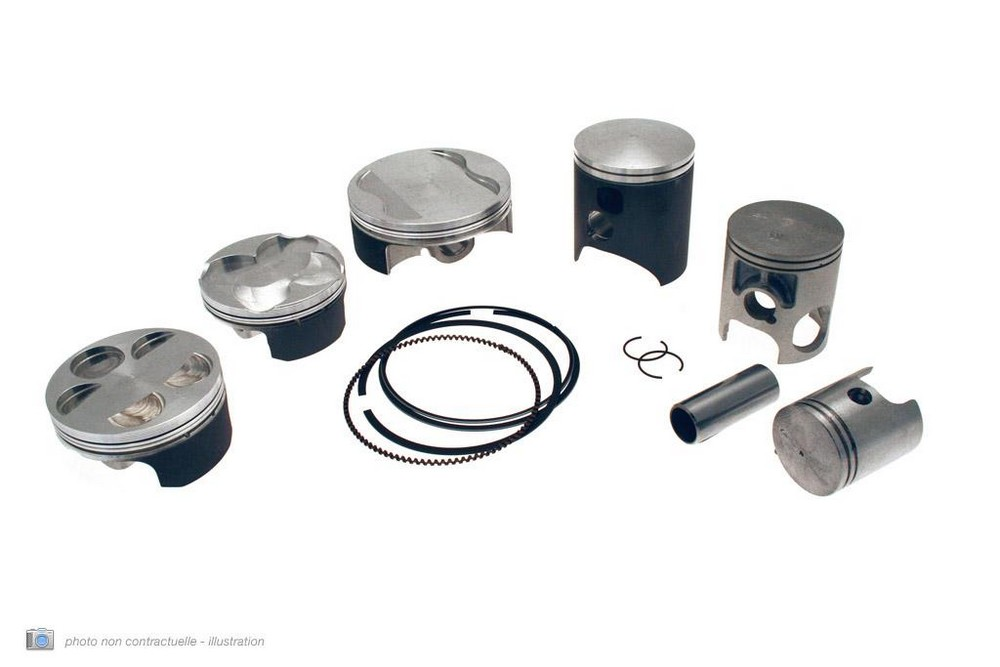 TECNIUM ピストン Φ49/00mm SUZUKI RM80 1986-1987 (COTE US)(Piston Tecnium SUZUKI RM80 '86 -87 (C?te US) Φ49,00mm【ヨーロッパ直輸入品】)