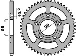 ピービーアール スプロケット PBR Ultra-light Alu Rear Sprocket Type 281 520 Chain【ヨーロッパ直輸入品】 丁数:34