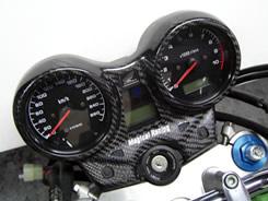 Magical Racing マジカルレーシング その他メーター関連 メーターカバー 仕様:Gシルバー CB1300SF