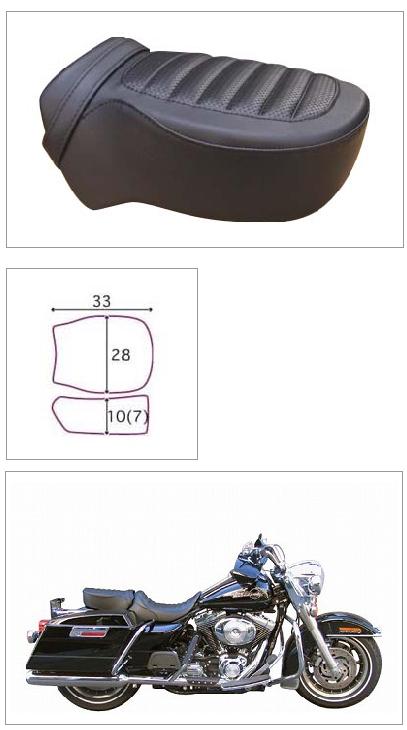 【ポイント5倍開催中!!】【クーポンが使える!】 K&H ケイアンドエイチ シート本体 ペアライド タック <セミオーダー> カラー:ホワイト カラー:レッド ツアラー系 96-