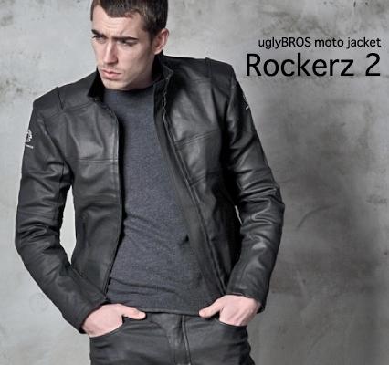 uglyBROS アグリブロス ライディングジャケット MOTOJACKET(モトジャケット) ROCKERZ ver.2 サイズ:XL