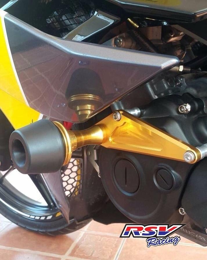 RSV racing アールエスブイレーシング ガード・スライダー フレームスライダー R15用 カラー:black R15 -16
