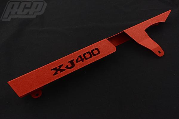 ACP エーシーピー ロゴ入り チヂミ塗装 チェーンケース XJ400 XJ400 XJ400
