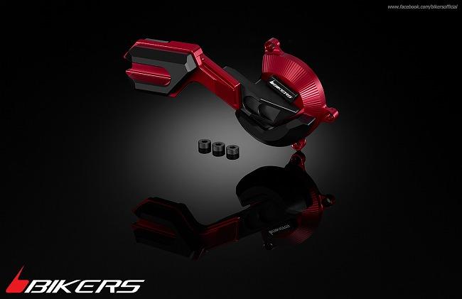 BIKERS バイカーズ ガード・スライダー エンジンガード カラー:チタン CB500F CB500X CBR500R