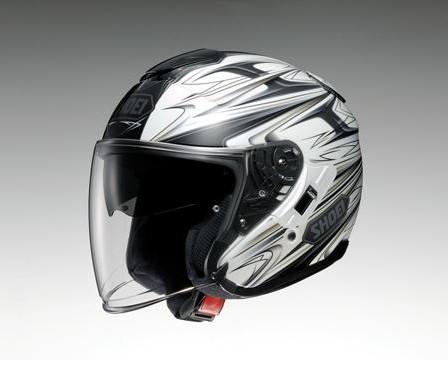 【在庫あり】【イベント開催中!】 SHOEI ショウエイ ジェットヘルメット J-Cruise CLEAVE [ジェイ-クルーズ クリーブ TC-6 WHITE/GREY] ヘルメット サイズ:L (59cm)