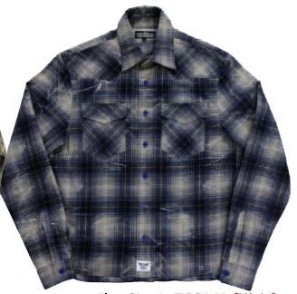 BREDGE ブレッジ カジュアルウェア フランネルシャツ サイズ:M