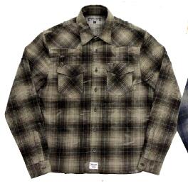 BREDGE ブレッジ カジュアルウェア フランネルシャツ サイズ:L