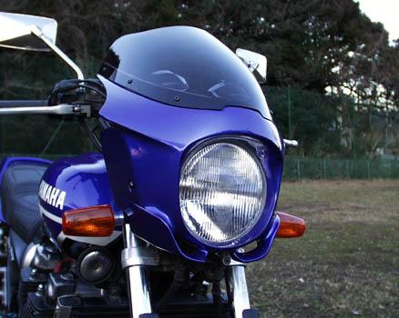 GULL CRAFT ガルクラフト ビキニカウル・バイザー BULLET BIKINI TYPE-S ビキニカウル XJR1300