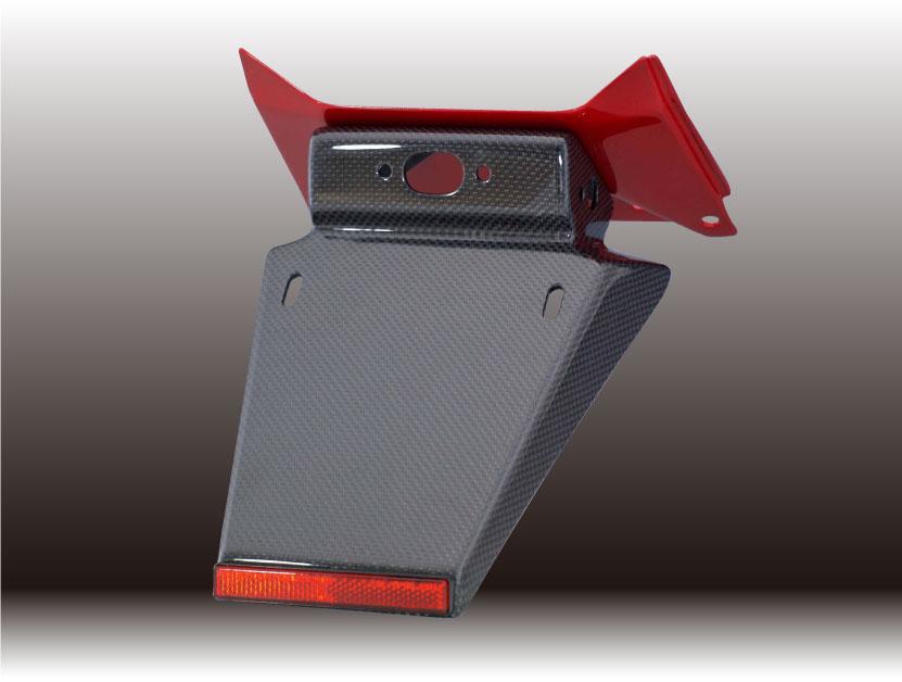 Force-Design フォルスデザイン フェンダーレスキット【セット】 ベースタイプ:キャンディタヒチアンブルー 塗装済み CB400SF VTEC III 03-06