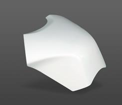 Magical Racing マジカルレーシング タンクカバー タンクエンド 素材:FRP製(ブラック) 2013- CBR600RR