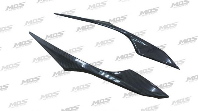 MOS モス スクーター外装 ヤマハ CYGNUS X ダブルディスク サイドカバーモール カーボンファイバー CYGNUS X