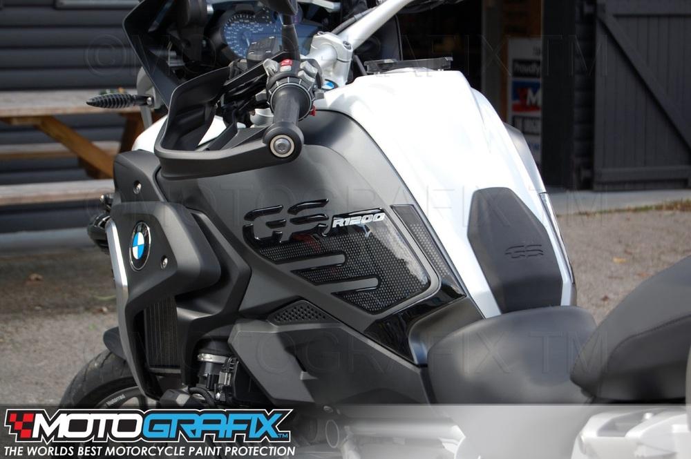 【ポイント5倍開催中!!】MOTOGRAFIX モトグラフィックス ステッカー・デカール ボディーパッド ニー R1200GS