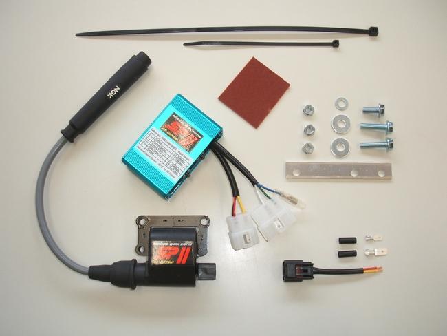 ASウオタニ AS UOTANI イグニッションコイル・ポイント・イグナイター関連 SPIIフルパワーキット SRX400 SRX600