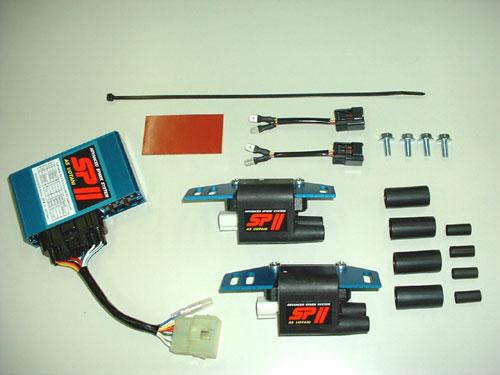 ASウオタニ AS UOTANI イグニッションコイル・ポイント・イグナイター関連 SPIIフルパワーキット GPZ1000RX