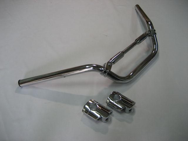 M-SOUL(ムサシ) エムソウル ハンドルバー LOOSEバーキット ナロータイプ シルバーウイング フォルツァ MF06