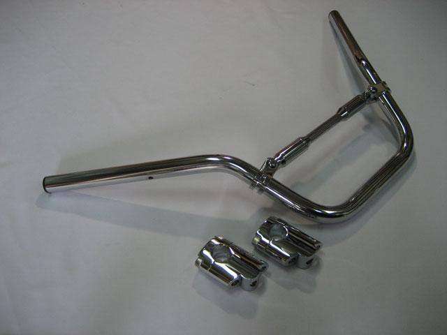 M-SOUL(ムサシ) エムソウル ハンドルバー LOOSEバーキット バックポジションタイプ シルバーウイング フォルツァ MF06