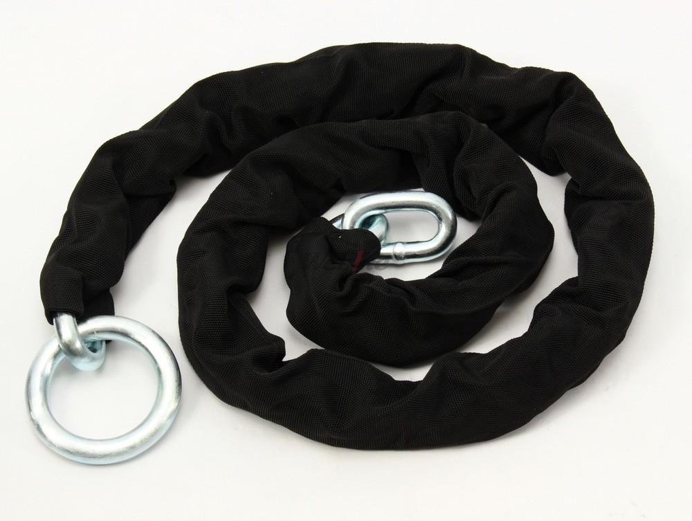 中野製鎖工業 ナカノセイサコウギョウ チェーンロック 超硬張鋼チェーン 1.7m(14Φ) エンドリング:丸環タイプ