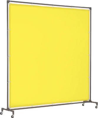 トラスコ中山 工業用品 TRUSCO 溶接遮光フェンス 2015型単体 キャスター 黄