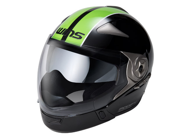 WINS ウインズ システムヘルメット MODIFY ADVANCE [モディファイ アドバンス] ジェットヘルメット サイズ:L (58cm-59cm)