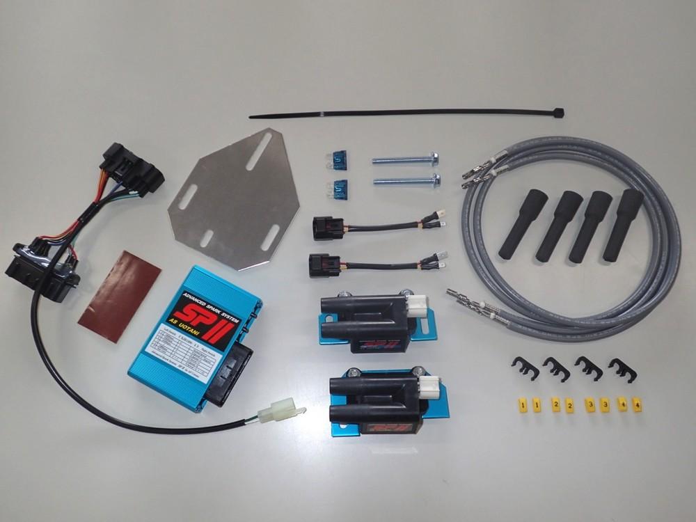 超人気の ASウオタニ AS UOTANI イグニッションコイル XJR1300・ポイント・イグナイター関連 SPIIフルパワーキット(Y.XJR1300-2 コードセット付) ASウオタニ AS XJR1300, クルマ生活:981223db --- inglin-transporte.ch