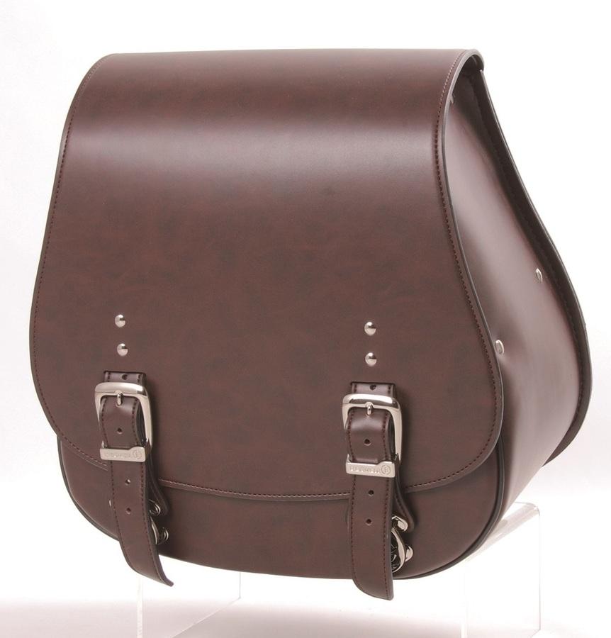DEGNER デグナー サドルバッグ・サイドバッグ シンセティックレザーサドルバッグ カラー:ブラウン