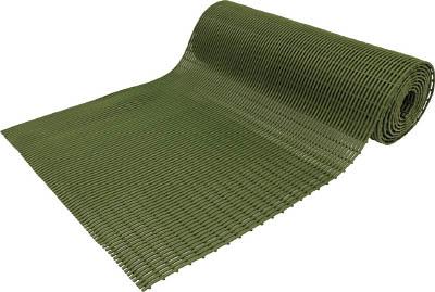TRUSCO トラスコ中山 工業用品 ミヅシマ セーフティマット ソフト グリーン