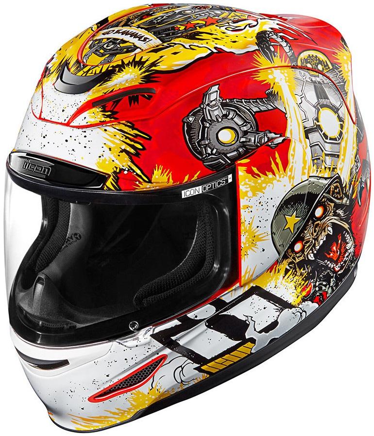 ICON アイコン フルフェイスヘルメット AIRMADA MONKEY BUSINESS HELMET [エアマーダ モンキービジネス ヘルメット] サイズ:L(59-60cm)