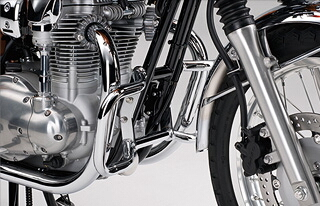 KAWASAKI カワサキ ガード・スライダー エンジンガード W400 ALL W650 アップハンドル仕様 ALL W650 ローハンドル仕様 ALL W800