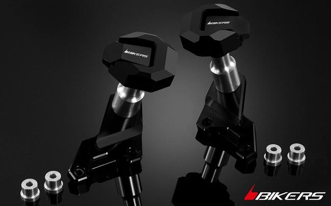 【ポイント5倍開催中!!】【イベント開催中!】 BIKERS バイカーズ ガード・スライダー ボディプロテクター カラー:ブラック DUKE200 DUKE390