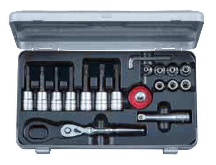 【イベント開催中!】 KTC ケイティーシー セット工具 9.5sq.T型いじり止めトルクスビットソケット・E型トルクスレンチセット