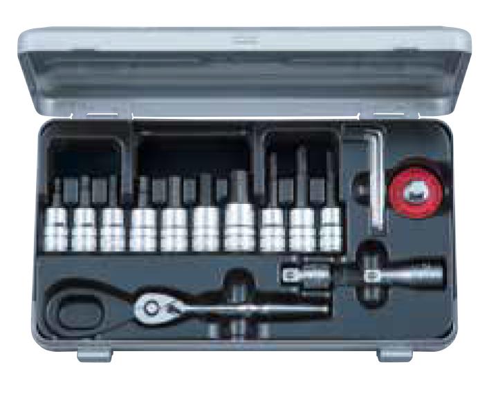 【イベント開催中!】 KTC ケイティーシー セット工具 9.5sq.ショートヘキサゴンビットソケットレンチセット
