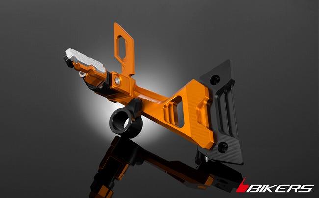 BIKERS バイカーズ タンデムステップ リアフットレスト カラー:ブラック Ninja250(EX250L) Z250