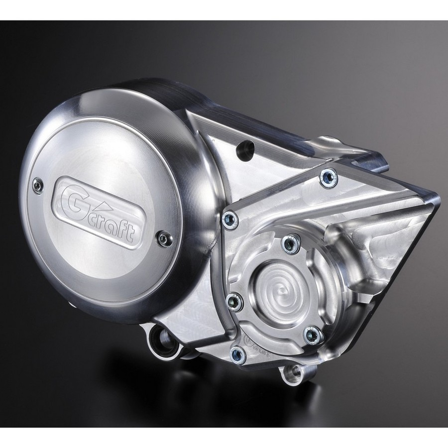 G-Craft Gクラフト ジークラフト クラッチ アルミビレットジェネレーターカバー20mmオフセット 横型エンジン用