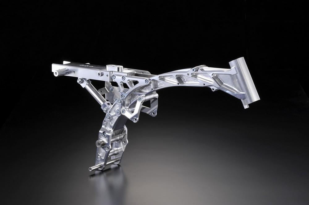 G-Craft Gクラフト ジークラフト サブフレーム アルミビレットフレーム GC-017 Type-S ピボット部Φ12仕様:なし(標準) 仕上げ:ブラックアルマイト仕上げ GORILLA [ゴリラ] MONKEY [モンキー]