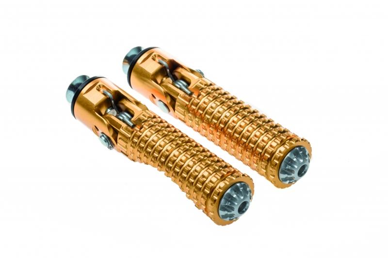 CNC Racing CNCレーシング フットペグ・ステップ・フロアボード フットペグフォールディングユニバーサル - コンフォート【Footpegs folding universal - Comfort】 カラー:ゴールド