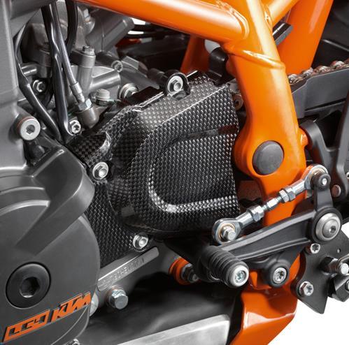 KTM POWER PARTS KTMパワーパーツ カーボンフロントスプロケットガード