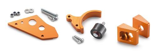 【ポイント5倍開催中!!】【クーポンが使える!】 KTM POWER PARTS KTMパワーパーツ スイングアーム 65 Factory kit [チェーンガイド/ケースガード(ローラー)/チェーンアジャスターブロック キット] 65 SXS 2012-2014 65SX
