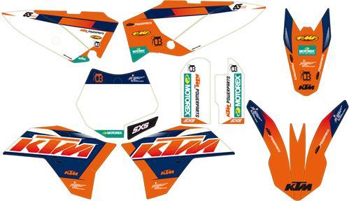 KTM POWER PARTS KTMパワーパーツ ファクトリーグラフィックキット 65 SX 2009-2015 65 SXS 2012-2013 65 XC 2009