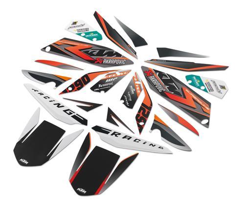 KTM POWER PARTS KTMパワーパーツ ステッカー・デカール グラフィックキット [レーシング]