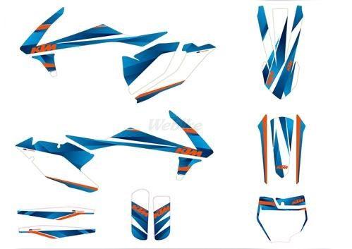 KTM POWER PARTS KTMパワーパーツ ステッカー・デカール グラフィックキット スタイル