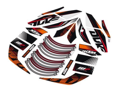 KTM POWER PARTS KTMパワーパーツ グラフィックキット [レース]