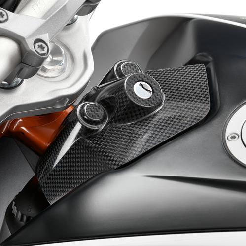 KTM POWER PARTS KTMパワーパーツ その他外装関連パーツ カーボンイグニッションロックカバー
