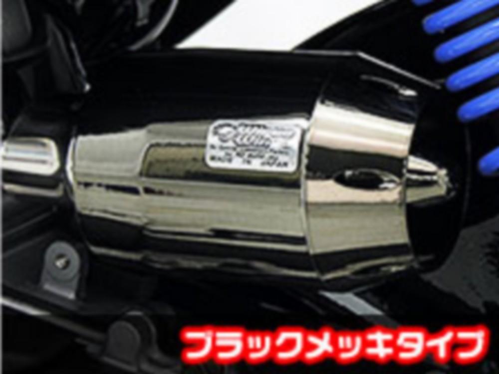 WirusWin ウイルズウィン エアクリーナー・エアエレメント ブリーズタイプ エアクリーナーキット カラー:ブラックメッキタイプ Z125 プロ