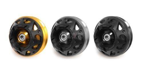 Dimotiv ディモーティヴ 3Dフロントアクスルスライダー(Front Axle Slider-3D) MT-07 MT-07 XSR700 TRACER700 14-16