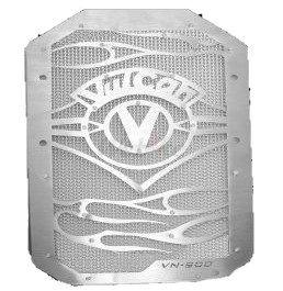 Dimotiv ディモーティヴ コアガード ラジエータープロテクタースペシャル(Radiator Protector - Special) ネットカラー:カラー:オレンジ バルカン900カスタム バルカン900クラシック