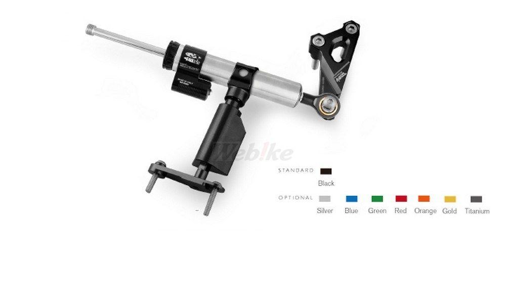 Dimotiv ディモーティヴ ステアリングダンパー ダンパーマウンティングキット (Damper Mounting Kit) カラー:ブラック タイプ:MATRIS用 S1000R